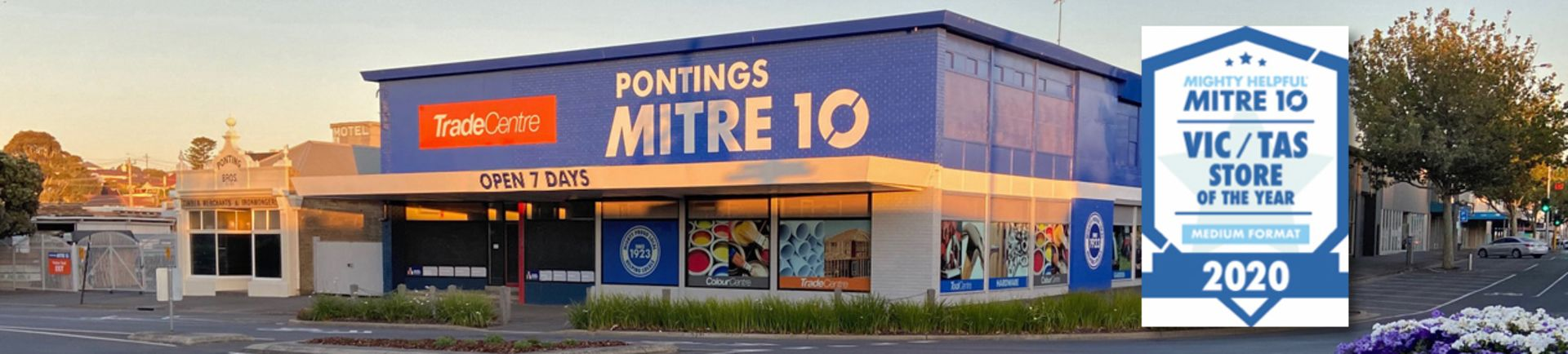 Pontings has been a part of Warrnambool's history since 1923